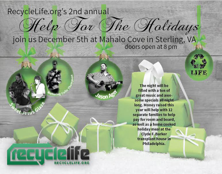 Mahalo Cove December 5th event